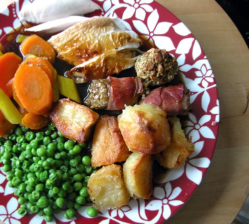 Week Three: Proper British Roast with Schmalzy Chicken