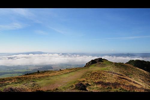 On top of the Wrekin