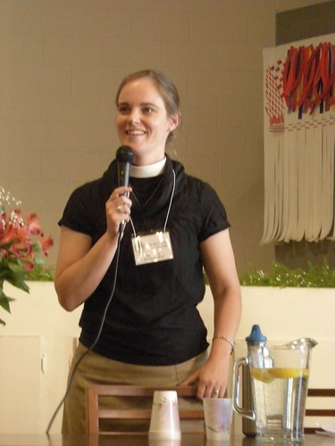 Rev. Amy Denny-Zuniga, Trinity Cathedral, San Jose California photo: copyright 2009 Katy Dickinson