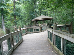 Virginia Living Museum - Pathway and Gazebo