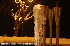 Fontane ghiacciate a Desenzano del Garda