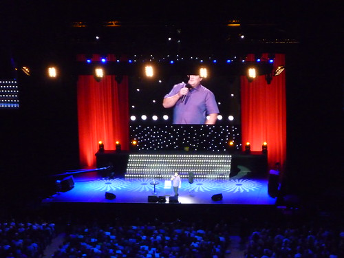 Peter Kay at the O2 by Phil & Catherine Wilkins