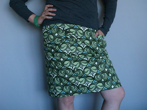 Butterick B5429 skirt