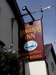 Aston inn sign
