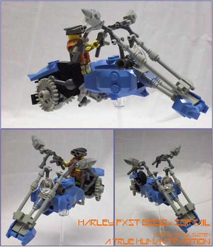 LEGO Harley speeder bike