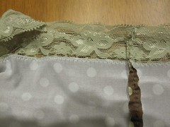 Panties close up