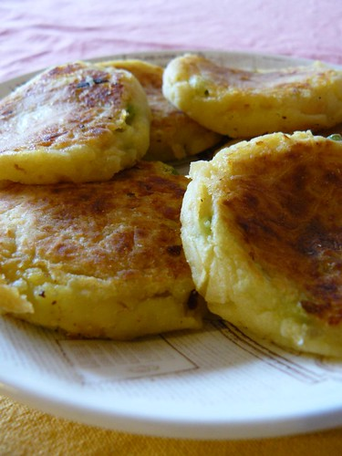 Samosa Mashed Potato Pancakes