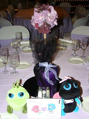 centerpiece, table number, bugs