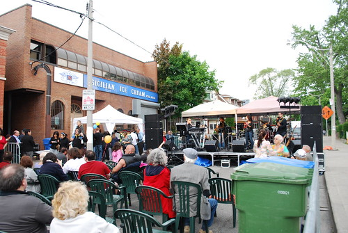 Music and Dancing in Little Italy