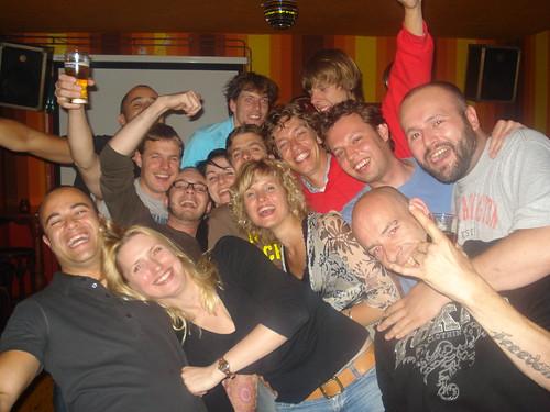 La Touche with friends