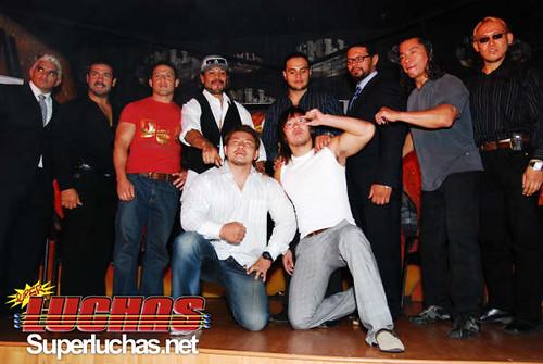 Participantes de Infierno en el Ring 2009 - CMLL (16 julio 2009) / Photo by Rostro Oculto