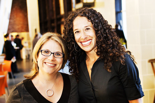 Dara Solomon, the Contemporary Jewish Museum's Associate Curator, and Jodi Linker