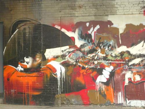 A Connor Harrington piece under the Highline