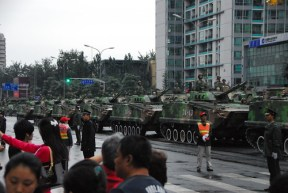 Tanks in Beijing by gadgetdan
