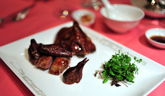 Tea-Smoked Bresse Pigeon