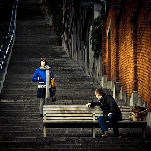 Romance in the Stairs, Part III : Between a Boy & a Girl (Photo : Gilderic)