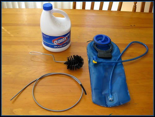 Cleaning a CamelBak