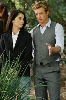 Lisbon and Jane in The Mentalist