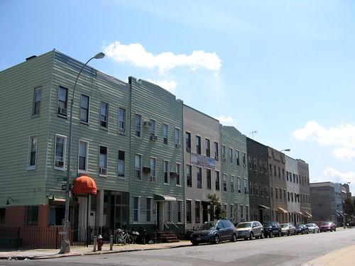 My street in Brooklyn.