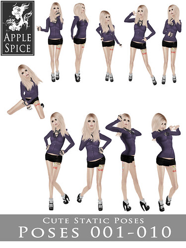 Apple Spice - Cute Static Poses