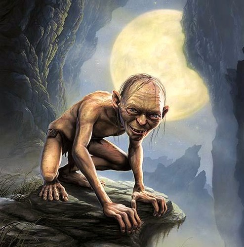 The Hobbit - Gollum por ti.