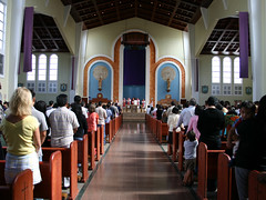 Good Friday at the Hagåtña Basilica