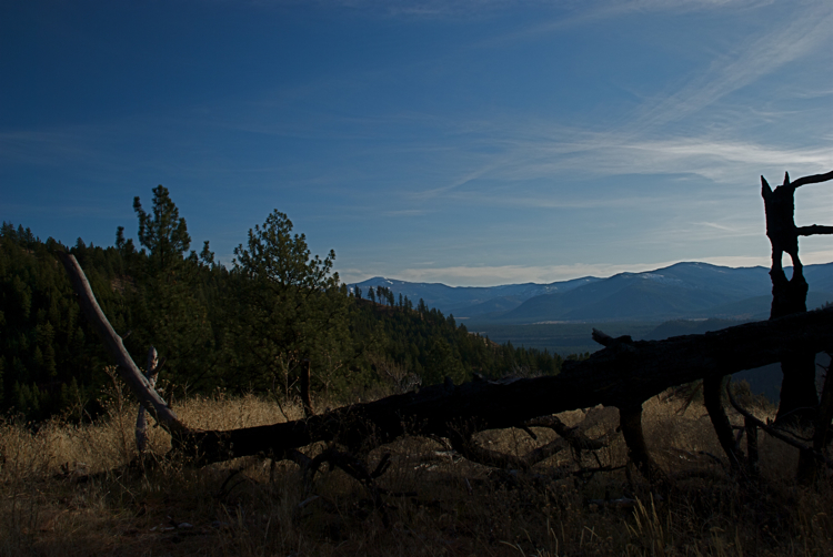 Overlooking the Clark Fork Valley