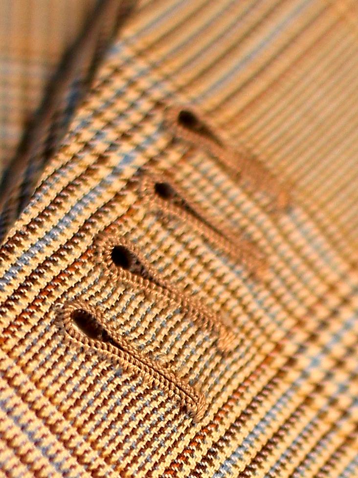 Milanese Buttonhole : milanese, buttonhole, Hand-, Great, Sartorial, Debate:, Buttonholes,, Video