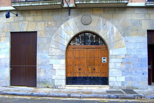 Puerta en la calle de San Francisco