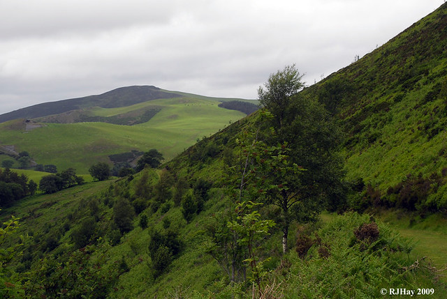 Hills are plentiful in Wales.