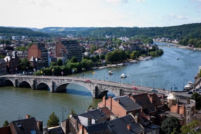 Meuse (Maas) river at Namur