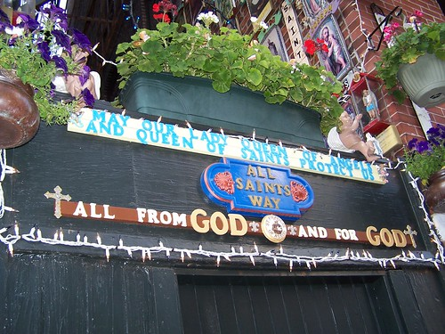 I love this ally shrine in the North End