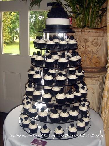 3930641167 f8f3e71081 Baú de ideias: Decoração de casamento preto e branco