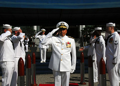 CNFK Change of Command