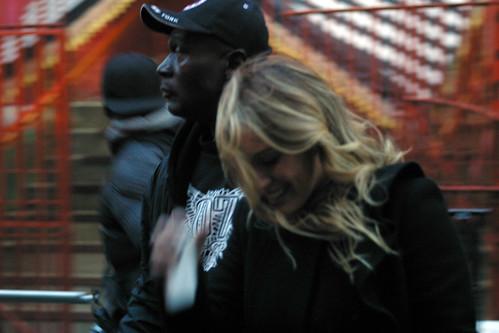 Hillary Duff: Gossip Girl Set 10/13/09