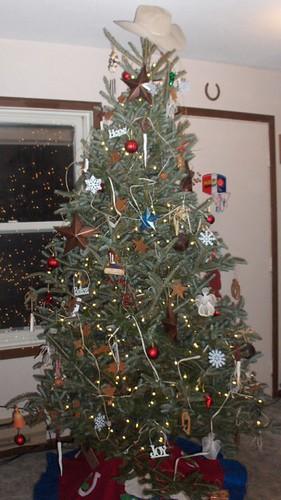 christmas tree, horses 019