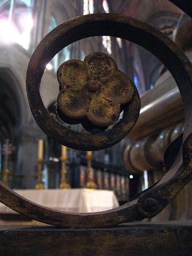 Ironwork in Notre Dame