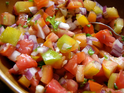 heirloom tomato pico de gallo