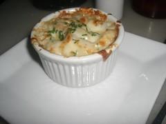 white truffle oil & mushroom mac & cheese