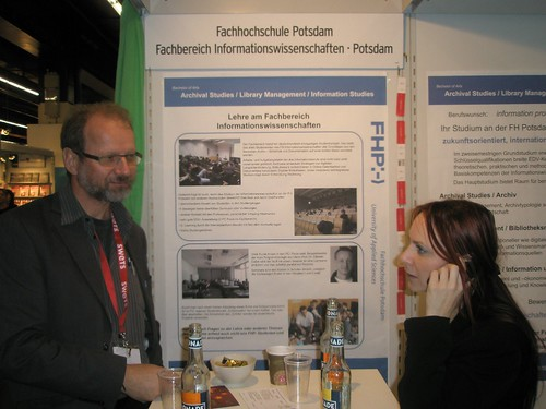 Prof. Büttner, FH-Potsdam, auf der LIS-Corner 2009