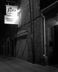 Blues Alley Marquee
