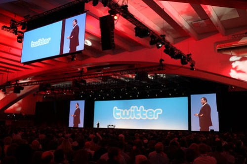 Salesforce CEO gets Twitter religion