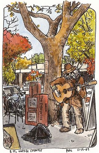12-string guitarist, E st