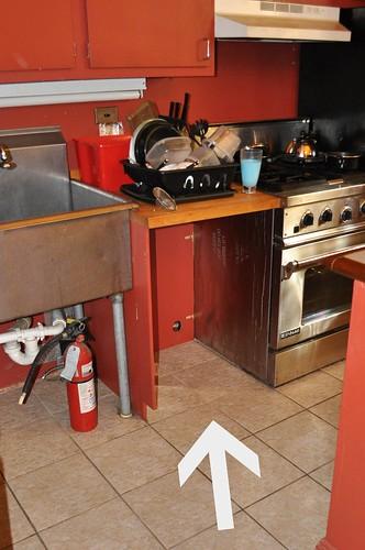 dishwasher's home