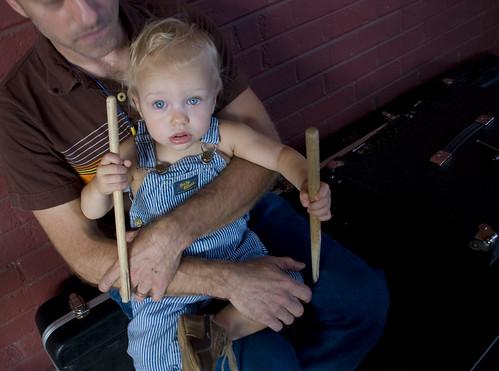 Dave Sickmen and son