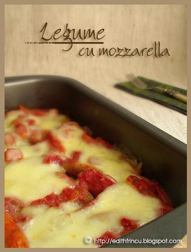 Mozzarella and vegetables
