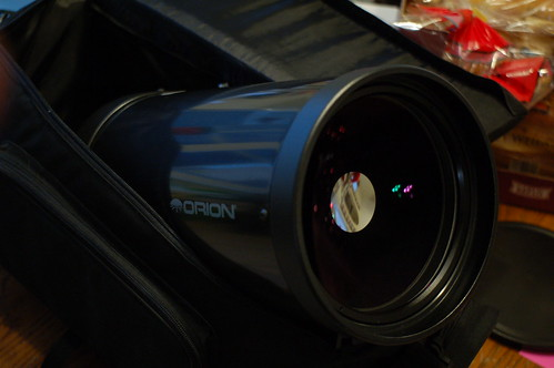 My New Orion 150mm Maksutov-Cassegrain telescope