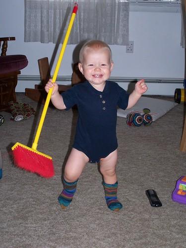 Whoo Hoo! Mama made me new socks!