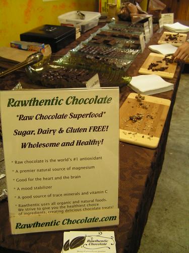 Raw chocolate!