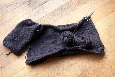 WIP: Alexandre's sweater